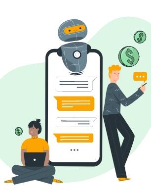 recuperaçao de credito e call centers atraves de chatbots