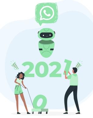 chatbots para whatsApp 2021 no mundo dos negocios