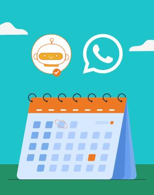 Saiba como realizar agendamentos com chatbots no WhatsApp