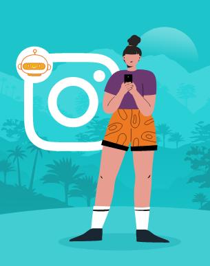 Como chatbots no Instagram estão crescendo no Brasil?