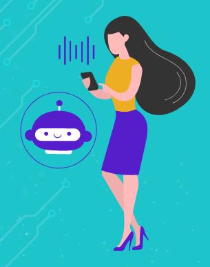 chatbot e o processo por voz